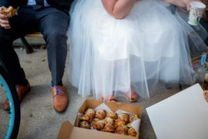 Bride bike brunch box