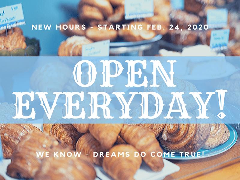 Open EVERYDAY!